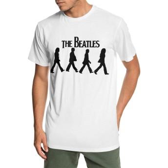 ビートルズ メンズ 半袖 Tシャツ クルーネック 薄手 無地 カジュアル スポーツ オシャレ シンプル デイリーウエア レディース 大きいサイズ
