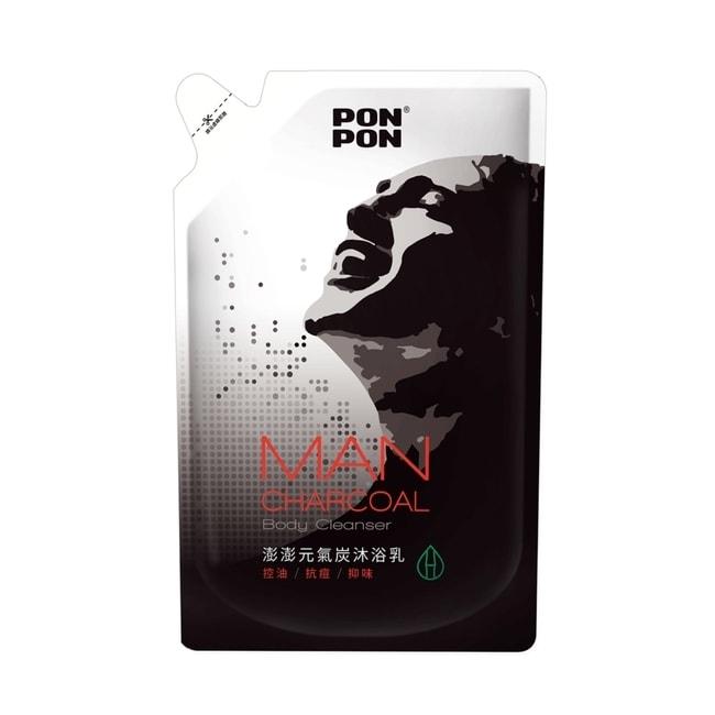 澎澎MAN 香浴乳補充包-元氣炭700g【屈臣氏】