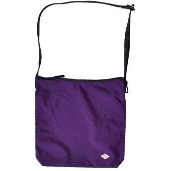 (ダントン)DANTON ナイロンタフタユーティリティショルダーバッグ one パープル(col.40) jd-7252ntf-one-40-purple