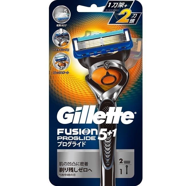 吉列PROGLIDE無感刮鬍刀(1刀架2刀頭)
