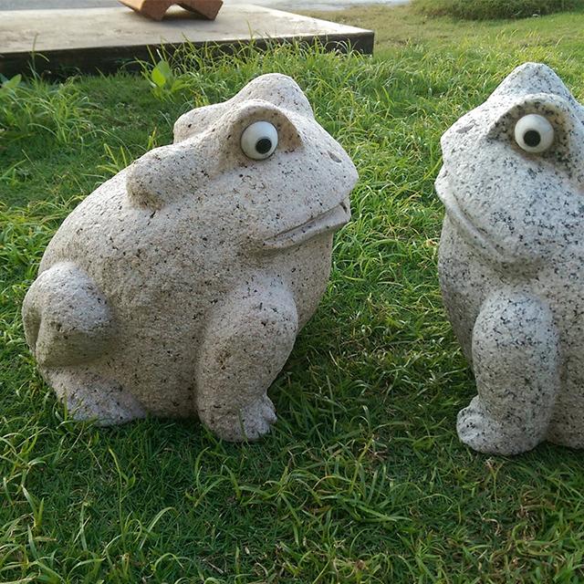 青蛙石雕 - L45cm