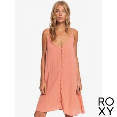 【ROXY】SIREN TREASURE DRESS 洋裝 珊瑚紅
