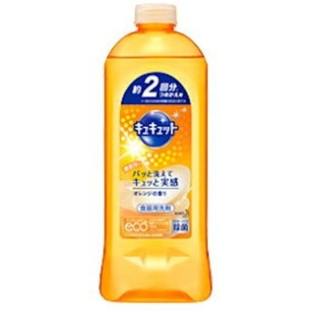 花王 キュキュット オレンジの香り 詰替 385ml KAO