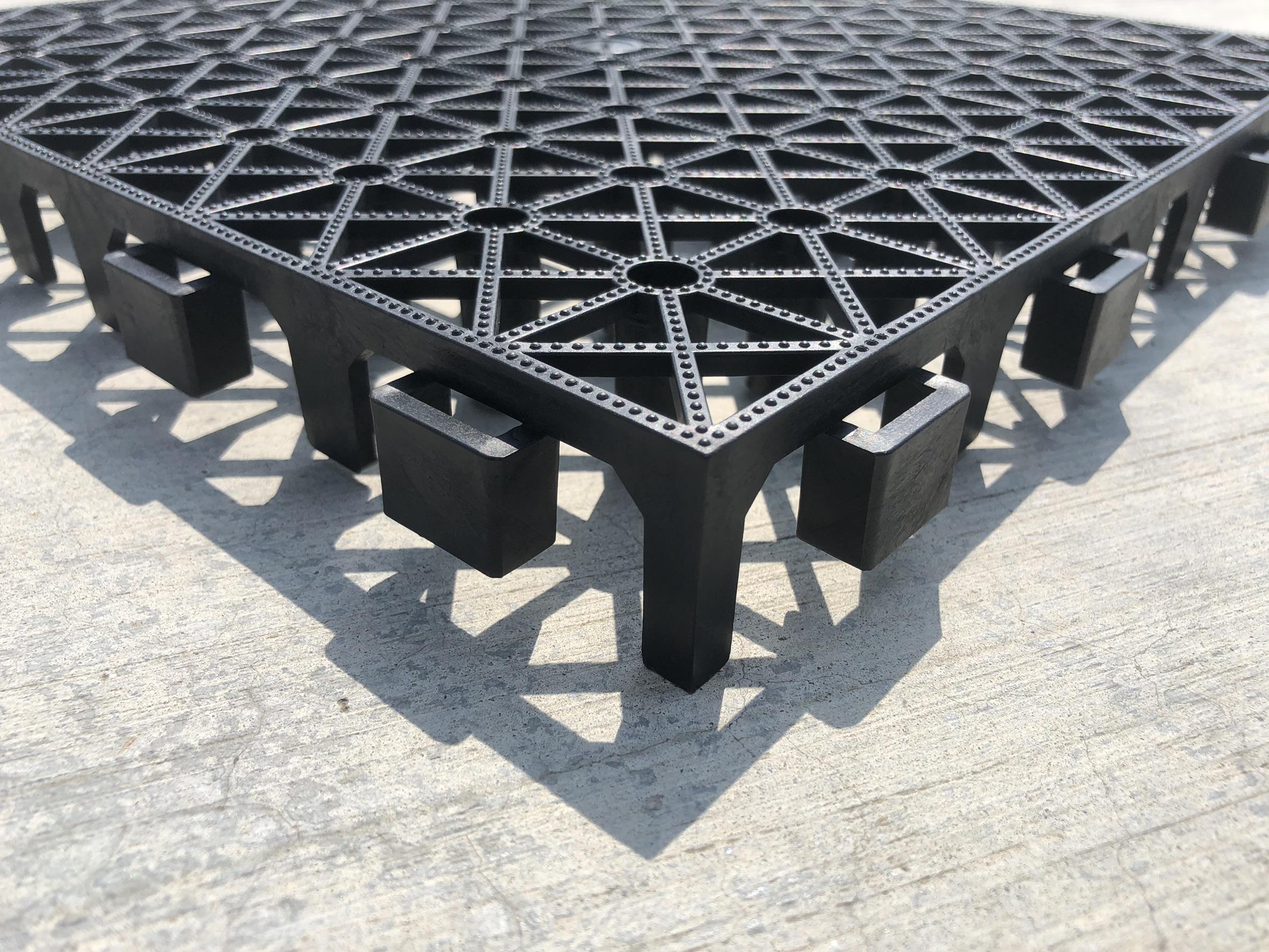 黃金屋地墊  30*30*3.2cm 塑膠棧板 置高墊 防潮墊 隔離墊 塑膠棧板 塑膠地墊 排水墊 排水板 DIY組裝