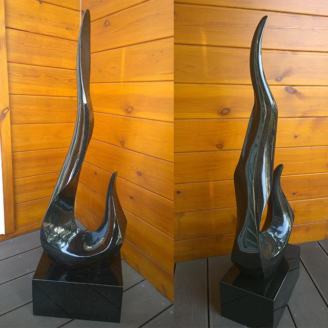 『昇華』藝術石雕 - 山西黑