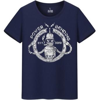 Futurama フォックス放送 アメリカンコミック アイデア メンズ レディース 夏服 スポーツ 半袖 おしゃれ Tシャツ