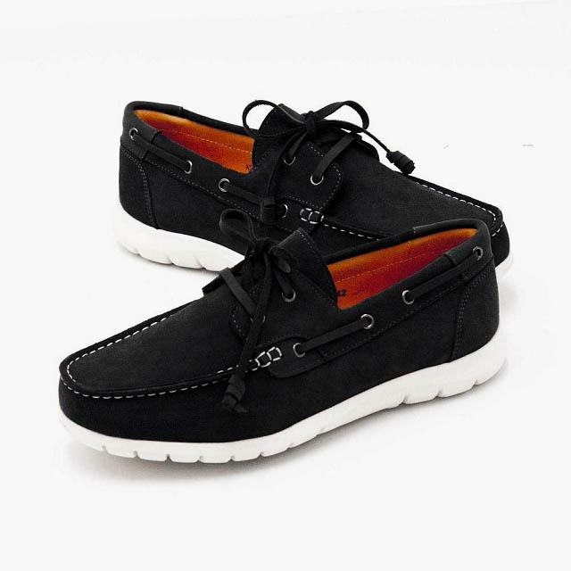 WALKING ZONE 穿繩綁帶帆船鞋 男鞋 A55-711238-01