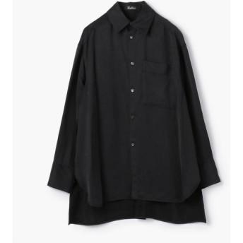 【トゥモローランド/TOMORROWLAND】 Edition フィブリルサテン ビッグカラーシャツ