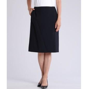 INED L / イネド(エルサイズ) 《大きいサイズ》ストレッチタイトスカート《INED international》《Botto Giuseppe》