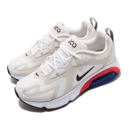 品牌: NIKE型號: AT6175-100品名: Wmns Air Max 200特點: 氣墊 避震 復古 球鞋 穿搭 米白 黑