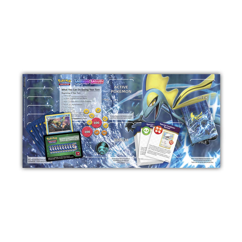 【特賣商品】神奇寶貝卡牌 劍盾1 Sword & Shield 千面避役 起始組 藍 英文版 寶可夢TCG 實體店面