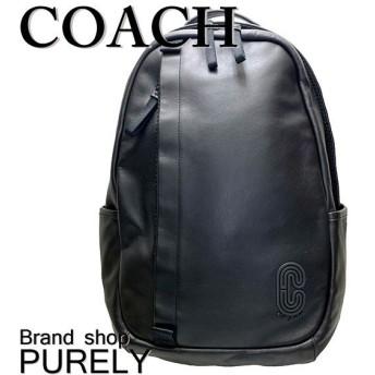 全品ポイント2倍 コーチ バッグ メンズ COACH リュックサック スムース レザー エッジ バック パック 89921 QB/BK ブラック