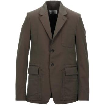 《セール開催中》MAISON MARGIELA メンズ テーラードジャケット ミリタリーグリーン 44 コットン 100%
