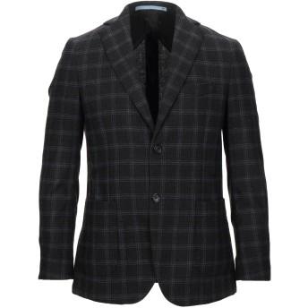 《セール開催中》HERMAN & SONS メンズ テーラードジャケット ダークブラウン 46 ウール 60% / ポリエステル 35% / ナイロン 5%