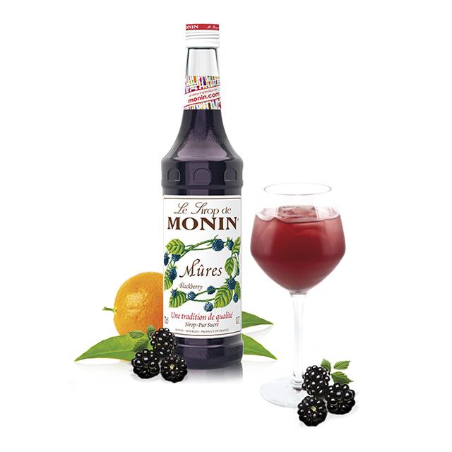 開元食品 Monin糖漿-黑苺700ml