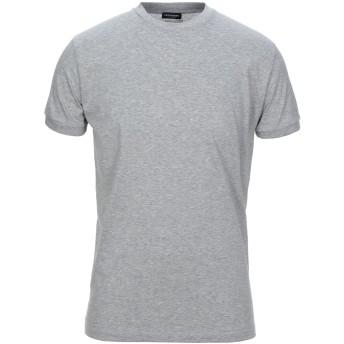 《セール開催中》DSQUARED2 メンズ アンダーTシャツ グレー XXL コットン 100%