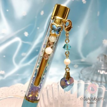 jewelry ボールペン(ブルー系) ◆03-b◆