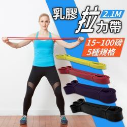捕夢網-65磅 多功能環狀彈力帶 天然乳膠拉力帶 阻力帶 彈力繩 瑜珈 健身 重訓 拉力繩 TRX