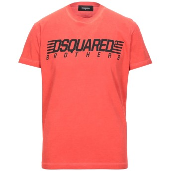 《セール開催中》DSQUARED2 メンズ T シャツ レッド S コットン 100%