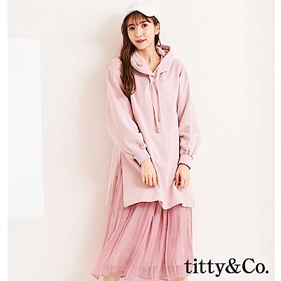 titty&Co.帽T紗裙兩件式組合(3色)