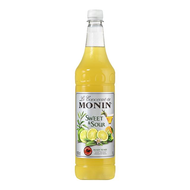 開元食品 Monin糖漿-萊姆汁1L