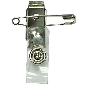 【奇奇文具】STAT TP-502SP 識別證鐵夾(附別針吊夾)