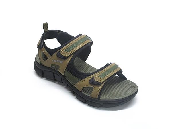 MS1683 愛麗絲的最愛 防水必備~ LOTTO輕量織帶運動涼鞋/男款平底涼鞋/平底拖鞋