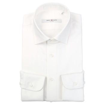 【THE SUIT COMPANY:トップス】▽【JAPAN QUALITY】ワイドカラードレスシャツ 織柄