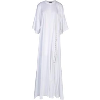 《セール開催中》Y/PROJECT レディース ロングワンピース&ドレス ホワイト 38 コットン 100%