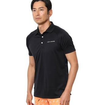 dポイントが貯まる・使える通販| ジュン アンド ロペ JUN & ROPE バックカラーブロック半袖ポロシャツ S ブラック 01 【dショッピング】 ポロシャツ・シャツ おすすめ価格