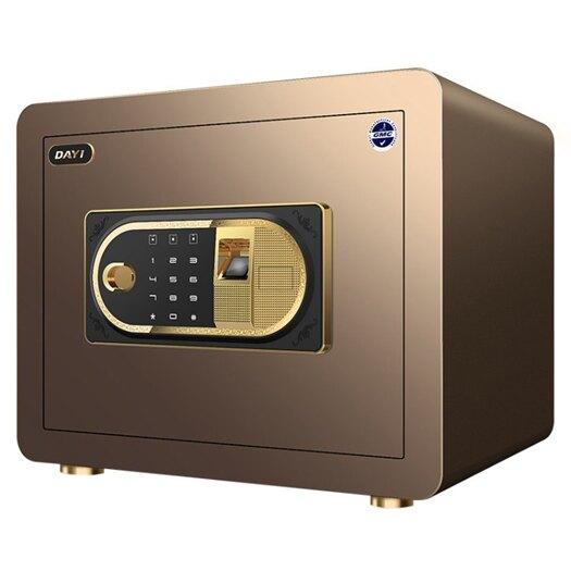 大一保險箱家用小型全鋼 指紋密碼辦公保險櫃防盜床頭 迷你保管櫃 NMS  露露日記