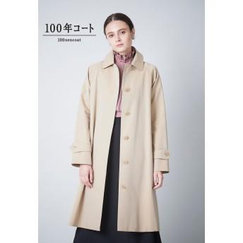 SANYOCOAT <100年コート>クラシックバルマカーンコート(三陽格子) ステンカラーコート,ベージュ