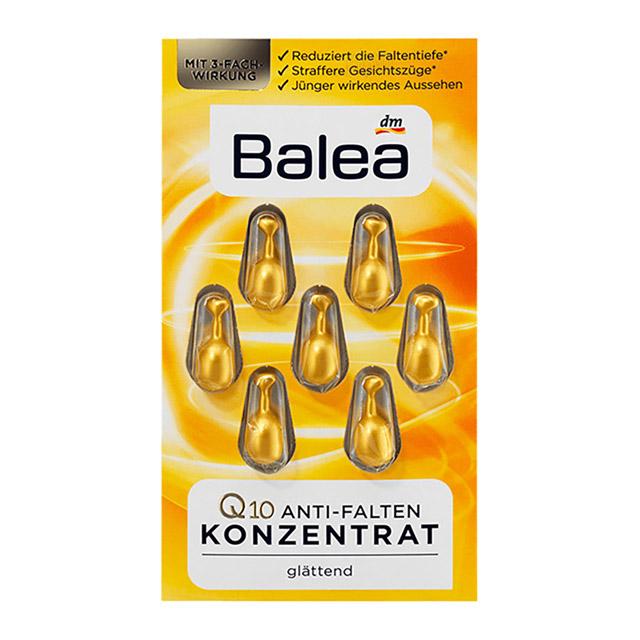 德國 Balea 精華膠囊 (0.38mlx7粒裝)  Q10抗皺緊緻保濕