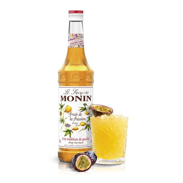 開元食品 Monin糖漿-百香果700ml