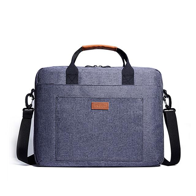 15.6吋 大容量休閒單肩手提筆電包 電腦包(CL214)-藍