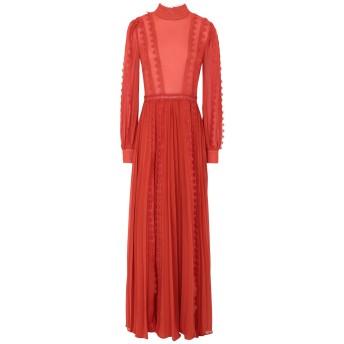 《セール開催中》TRUE DECADENCE レディース ロングワンピース&ドレス 赤茶色 8 ポリエステル 100%
