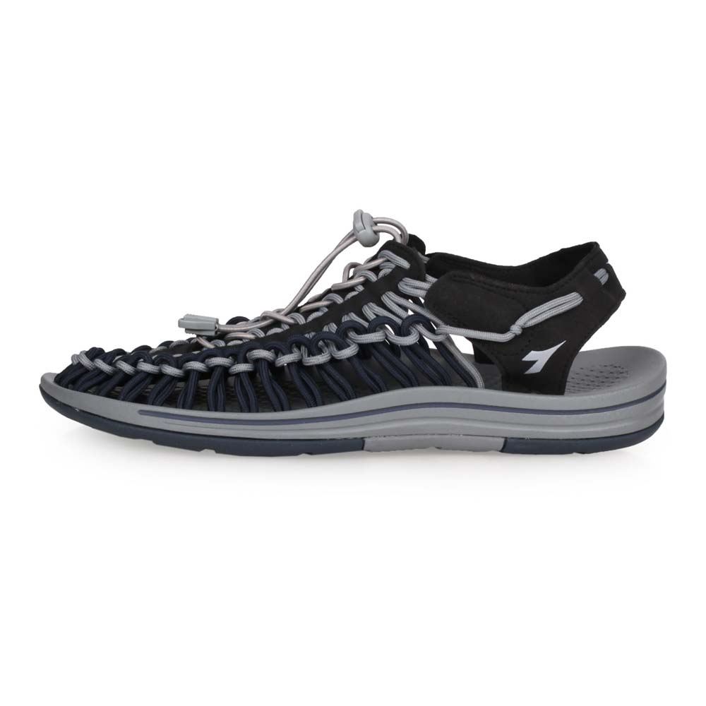 DIADORA 迪亞多那 男 戶外編織涼鞋 灰丈青黑 DA71125