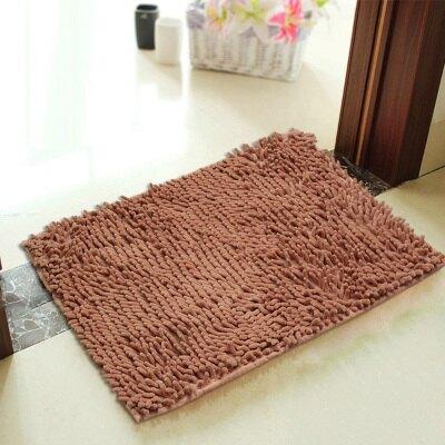 廚房地墊 雪尼爾地墊門墊進門地墊地毯臥室腳墊廚房浴室衛生間吸水防滑墊子XY1607』