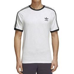 Adidas 2020男時尚棉質修身白色圓領短袖ㄒ恤