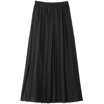FLORENT フローレント クリスピーボイルプリーツスカート ブラック
