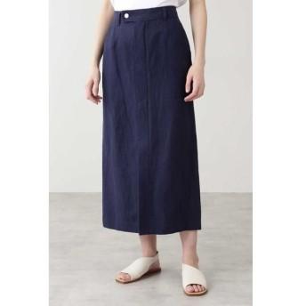 HUMAN WOMAN / ヒューマンウーマン ◆≪Japan Couture≫リネンシルクスカート