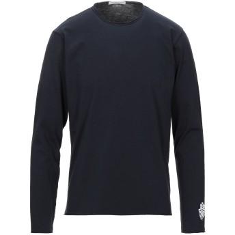 《セール開催中》GREY DANIELE ALESSANDRINI メンズ T シャツ ダークブルー S コットン 100%