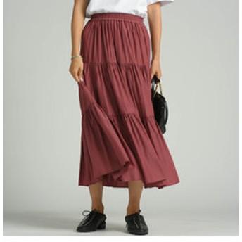 新規会員登録で3,000円OFF!【J Lounge:スカート】【socolla】ティアードスカート