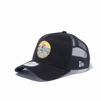 NEW ERA ニューエラ 9FORTY A-Frame トラッカー ニューエラ サンライズ ブラック ニューエラ アウトドア アジャスタブル サイズ調整可能 ベースボールキャップ キャップ 帽子 メンズ レディース 56.8 - 60.6cm 12325764 NEWERA