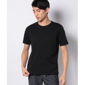 コムサイズム Tシャツ メンズ ブラック S 【COMME CA ISM】