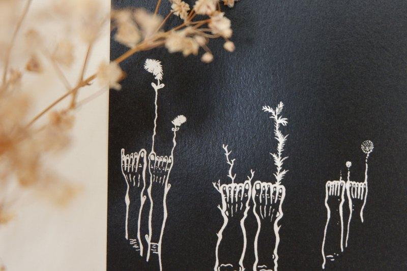 植物 重生_海報包裝紙