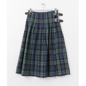 かぐれ(カグレ) スカート スカート O'NEIL OF DUBLIN LOW WAIST PLEATS SKIRT【送料無料】
