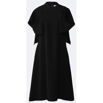 <AKIRA NAKA/アキラ ナカ> Itzel twist sleeves dress BK BLACK【三越・伊勢丹/公式】