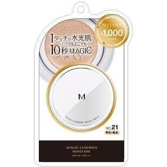ミシャ Мクッションファンデーション(モイスチャー) No.21 明るい肌色 15g