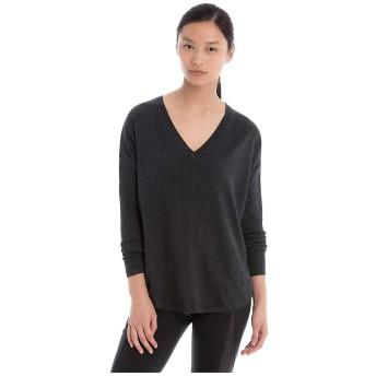 Lole アウター ニット・セーター Lole Women's Martha Sweater Black Heat レディース [並行輸入品]